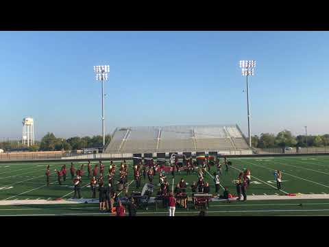 Bells High School Marching Band Princeton 2017