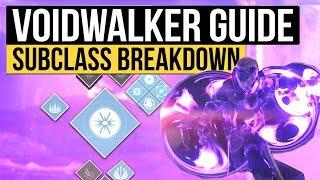 Destiny 2 | VOIDWALKER SUBCLASS GUIDE! - All New Warlock Abilities & Full Subclass Tree Breakdown!