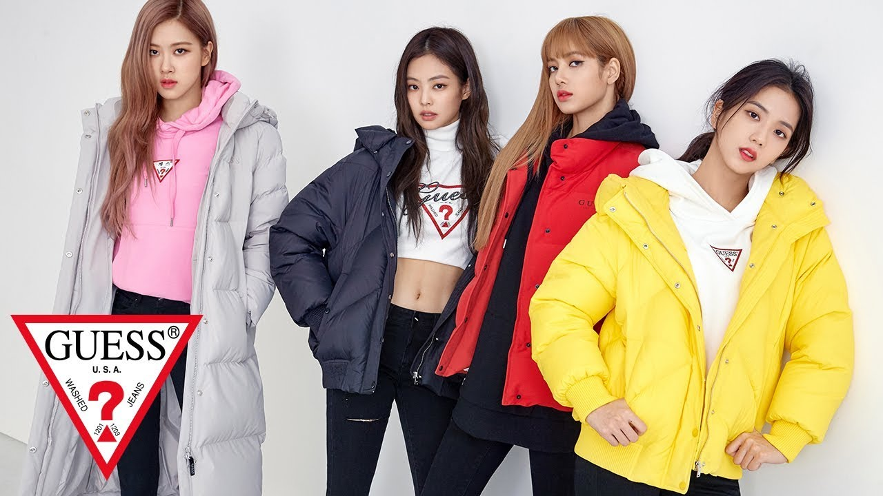 Guess X Blackpink Youtube