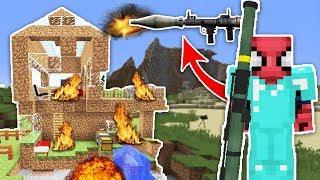 ZENGİN VS FAKİR ÖRÜMCEK ADAM #24 - Zengin Fakir'in Evini Patlattı (Minecraft) Video