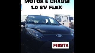 Ford Fiesta 2012 numero motor e chassi