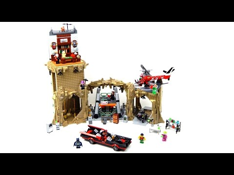 Lego DC Comics Super Heroes 76052 Batman Classic TV Series – Batcave Lego Speed Build
