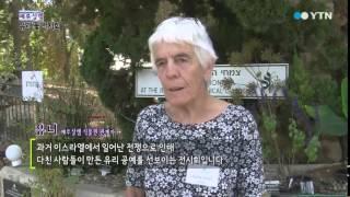 꽃으로 다시 태어난 깨진 유리 / YTN