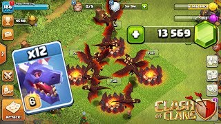 🔴 LIVE: ALL MAX DRAGON RAIDS! Clash of Clans FREE Gems Event | Past Amazing