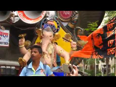 "Tanay Beats 'Ya Re Ya"" Songs  At GrantRoadcha Raja Aagman Sohla 2017"