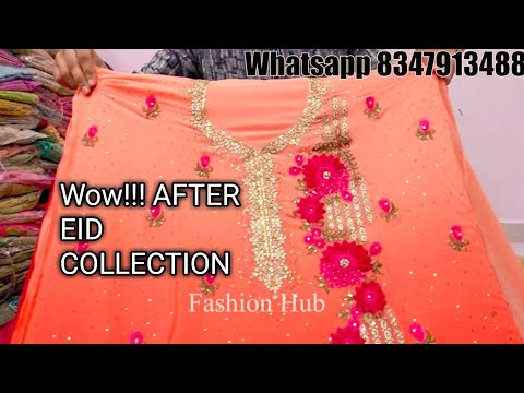 Wow New collection Dress Material Ka Dhamaka | Cotton, Georgotte | Fashion Hub