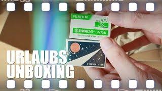 Urlaubs Unboxing - etwas Film und Netzmittel   Flanell, Kameras & Film