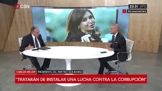 28-01-2019 - Carlos Heller en C5N – Recalculando, con Julián Guarino