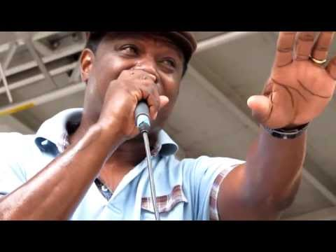 The Revelations feat. Tre Williams, Let's Straighten It Out, Madison Square Park, NYC 6-10-12