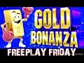 😱 GOLD BONANZA 😱 CAN WE MAKE ANY MONEY OFF FREEPLAY? ➡️ Dejavu Slots