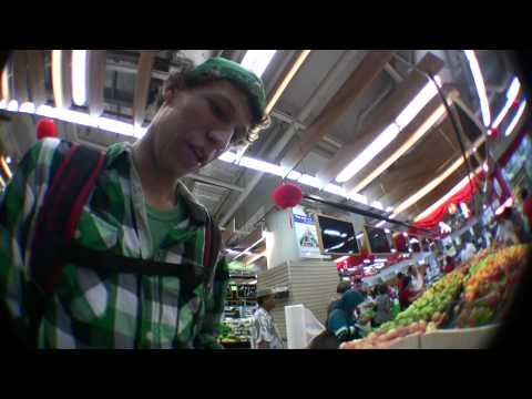 Grocery Shopping In Singapore With Mike
