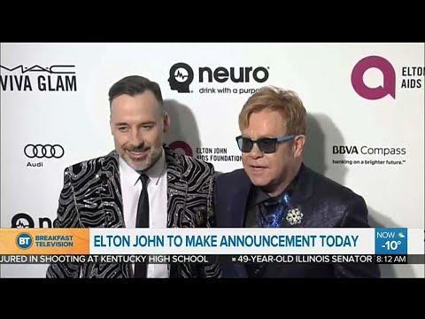 Is Elton John retiring?