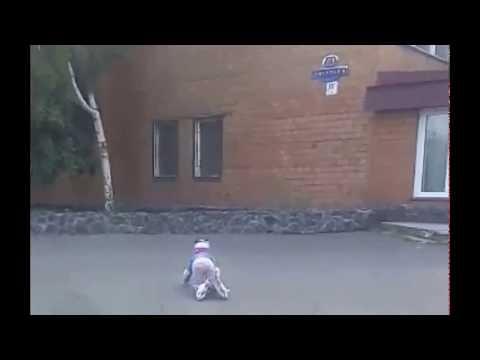 видео: Первый урок на роликах