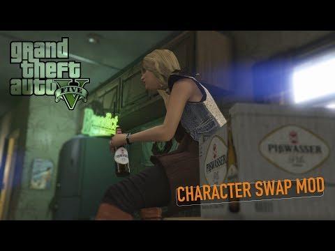 GTA V Character Swap Mod