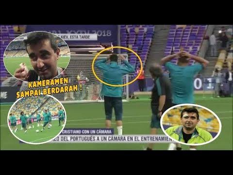 Lihat Apa Yg Terjadi Dengan Cristiano Ronaldo Usai Sesi Latihan Jelang Laga Final Di Kiev