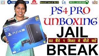 PS4 PRO Unboxing | 5.05 / 5.55 Version को 1 मिनट मे में Jail Break कैसे करें | NamokaR GaminG WorlD