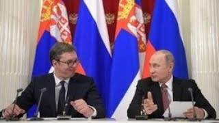 Пресс-конференция Владимира Путина и Александра Вучича. Полное видео
