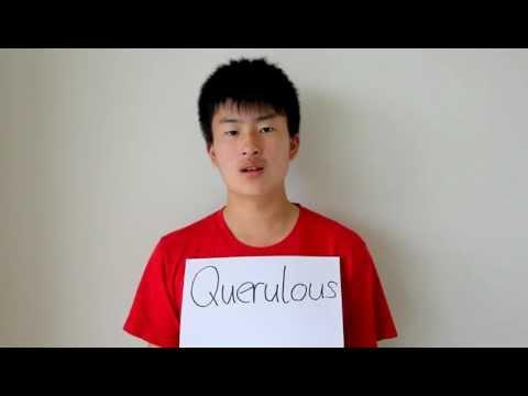 Header of querulous