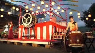 和太鼓グループ彩 さざなみ 第18回ハートピア夏祭りin石岡