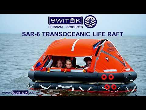 SWITLIK SAR-6 Transoceanic Life Raft