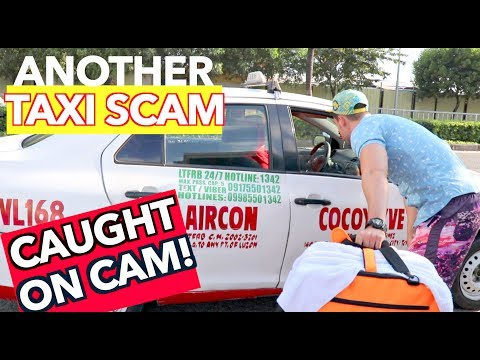 TAXI SCAM caught by ANOTHER VLOGGER in MANILA Not Just in AIRPORTS!