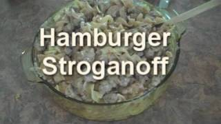 Cooking With Junkyard: Hamburger Stroganoff