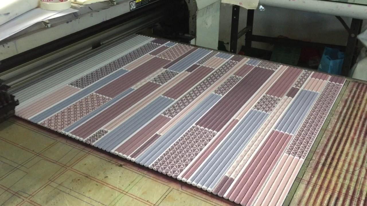 Floor mats with cushion - Print Floor Mats Cushion With Directly Inkjet Printing Machine Epson Mutoh Mimaki