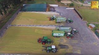 Maisernte - Maishäckseln/Silieren - 2 Häckslerketten/10 Schlepper-Biogasanlage Ebstorf-Maize harvest