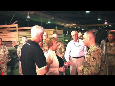 Congressional Delegation Visits Camp Arifjan