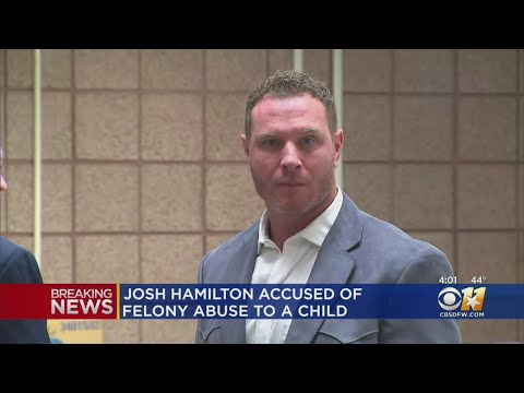 Former Texas Ranger Josh Hamilton Arrested On Allegation Of Injury To A Child