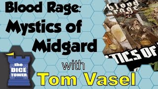 Blood Rage: Mystics of Midgard Review - with Tom Vasel