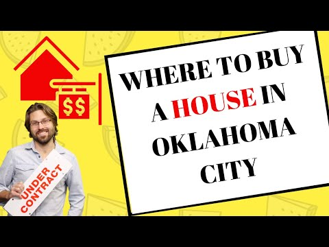 ☑️ Where to buy a house in Oklahoma City (2020 real estate investing)
