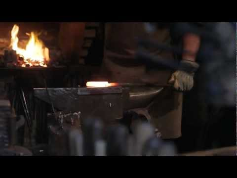 The Birth Of A Tool. Part III. Damascus steel knife making (by Northmen)