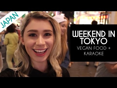 WEEKEND IN TOKYO | Karaoke Nalu 76salon and Vegan Food in Japan