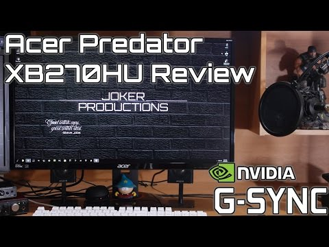 Acer Predator XB270HU Review | Best 1440p G-Sync Gaming Monitor