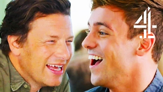 Tom Daley's Incredibly Cute Proposal Story | Jamie And Jimmy's Friday Night Feast
