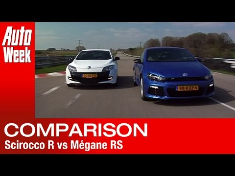Volkswagen Scirocco R vs Renault Mégane RS road test – English subtitled