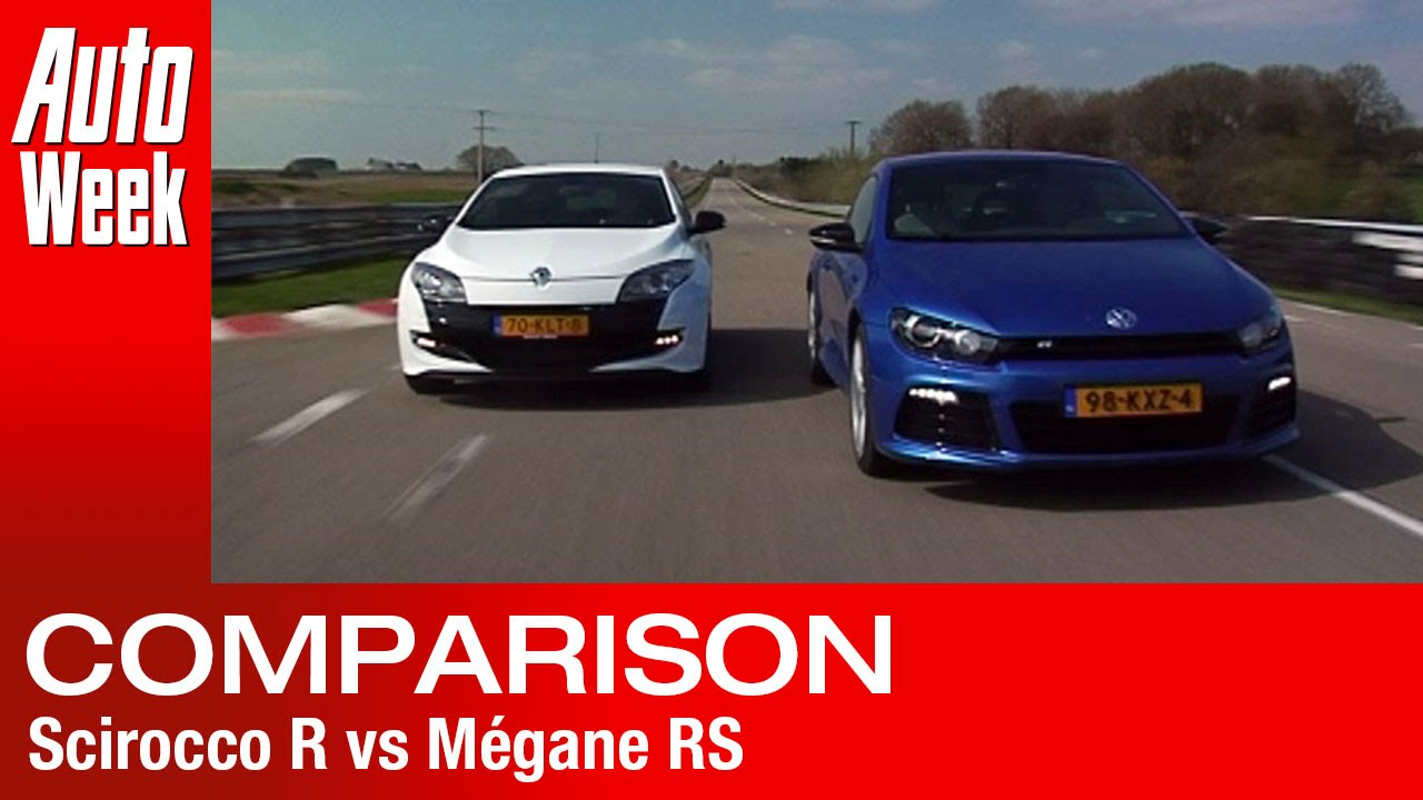 volkswagen scirocco r vs renault m gane rs road test. Black Bedroom Furniture Sets. Home Design Ideas