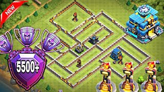 TH12 LEGEND LEAGUE TROPHY BASE WITH REPLAYS | TH12 BEST ANTI 3 STAR TROPHY/WAR BASE WITH 3 INFERNO