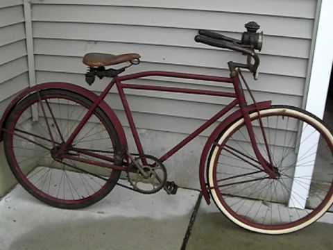 hercules bicycle circa 1915 youtube. Black Bedroom Furniture Sets. Home Design Ideas