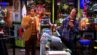 Raj asked Stuart to go out with him The Big Bang Theory S6x1 (i'm so shipping StuRaj)