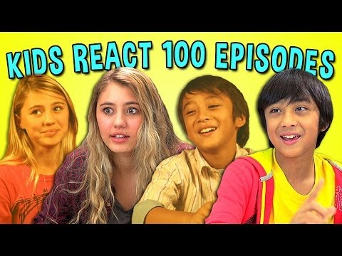 KIDS REACT 100TH EPISODE SPECIAL - YouTube