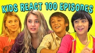KIDS REACT 100TH EPISODE SPECIAL(THANK YOU FOR 100 EPISODES OF KIDS REACT! NEW Videos Every Week! Subscribe: http://goo.gl/nxzGJv Watch all KIDS REACT episodes ..., 2014-04-05T18:02:22.000Z)
