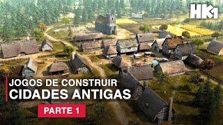 5 JOGOS DE ESTRATÉGIA DE CONSTRUIR CIDADES ANTIGAS (PC) | Construção e Administração da Cidade