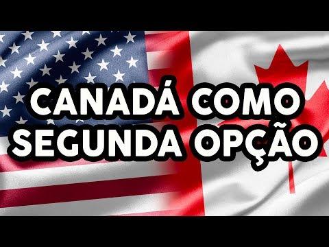 CANADÁ COMO SEGUNDA OPÇÃO - EUA como primeira