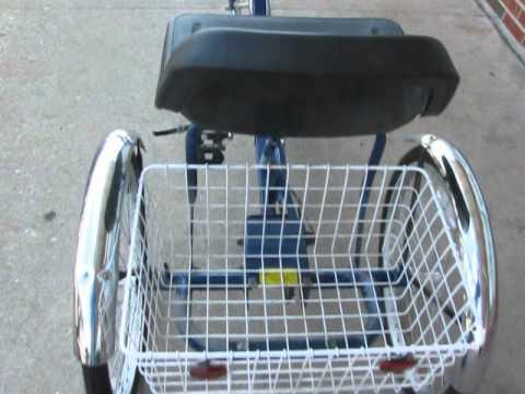 Trailmate Ez Roll Regal 3 Wheel Bicycle 3 Speed Youtube
