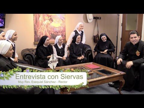 Las Flores del Santuario - Entrevista con Siervas OK