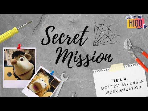 Online KiGo I Secret Mission Woche 4 I Gott ist bei uns