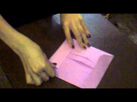 Como Hacer Sobre Papel Origami Youtube