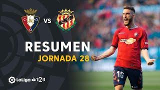 Resumen de CA Osasuna vs Nàstic (1-0)